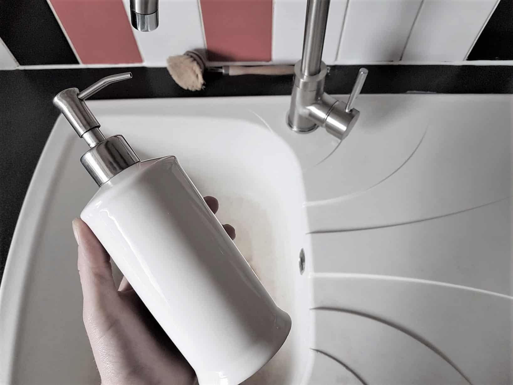 savon mains liquide antibactérien recette diy zéro déchet