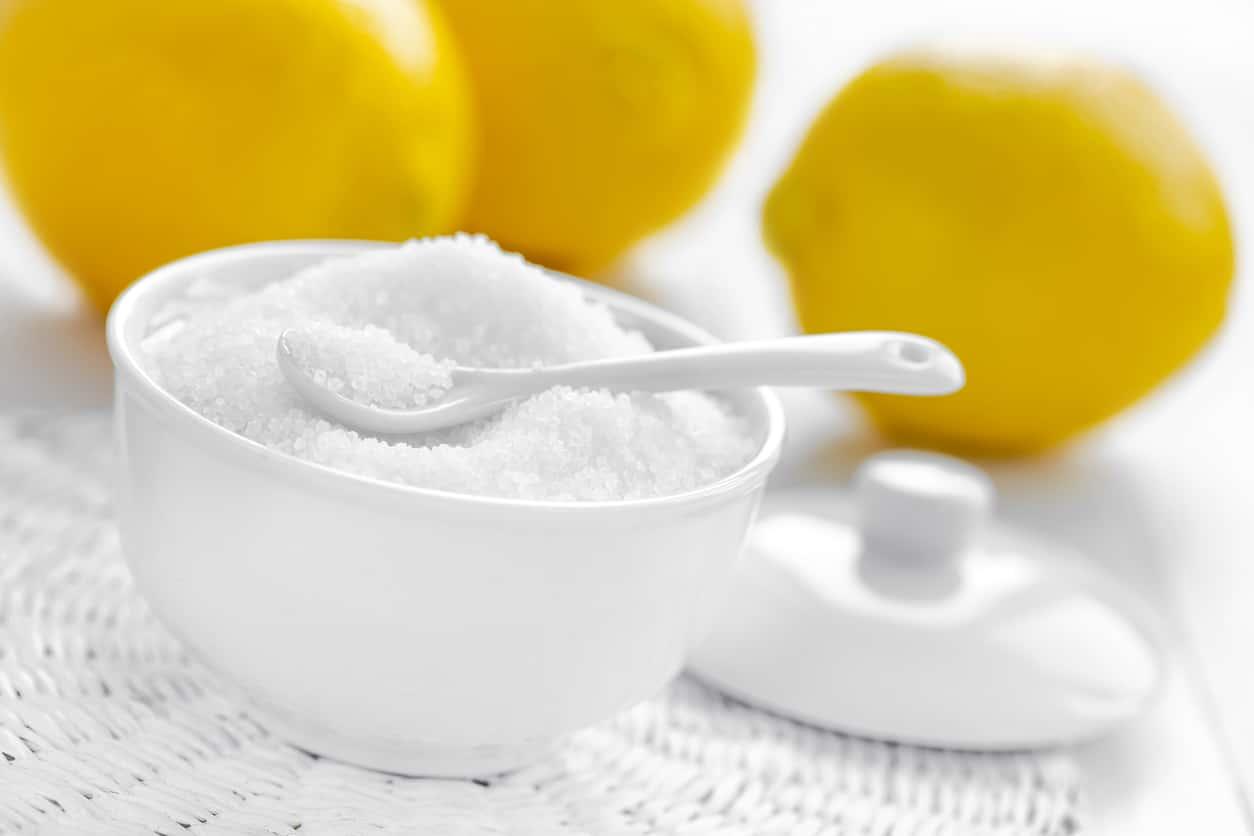 acide citrique citrons entretenir canalisations fiche produit ménage écologique