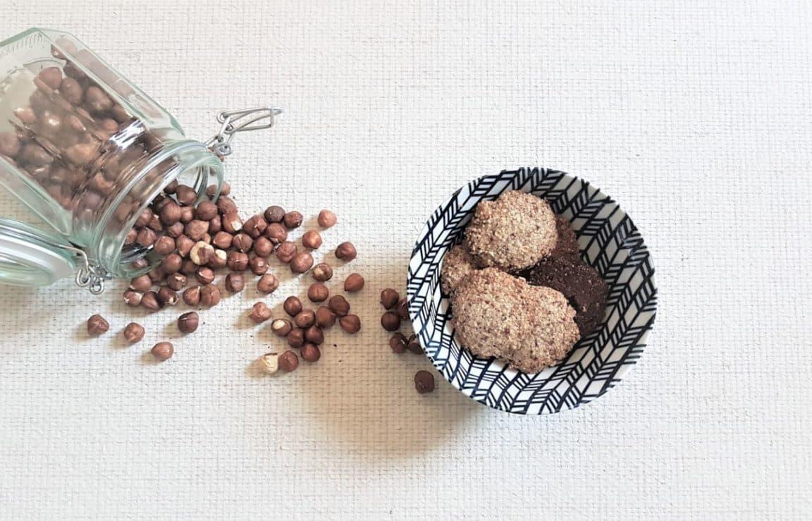 biscuits noisettes sans farine