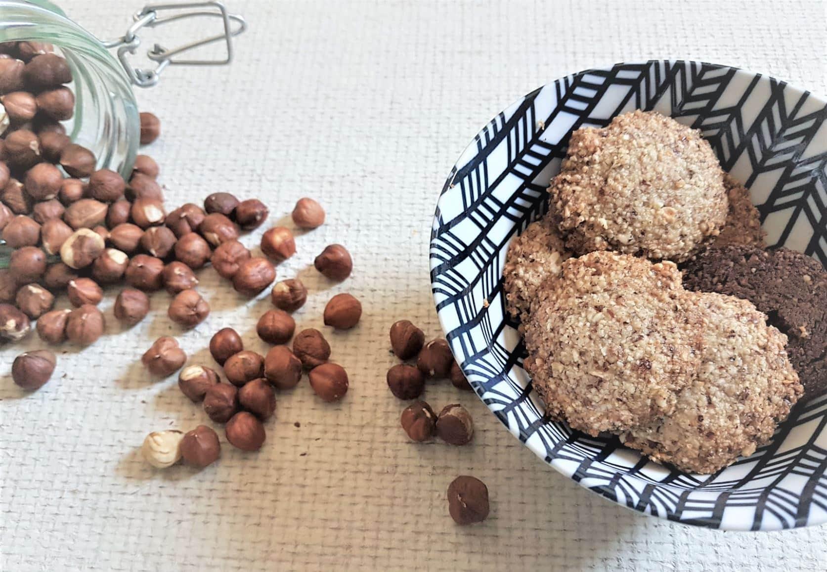 biscuits sans farine recette poudre noisettes