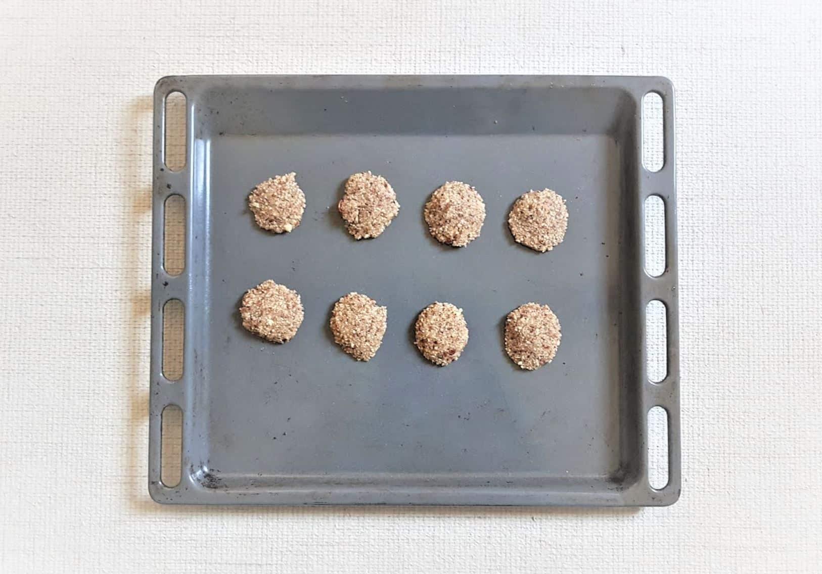 cookies fournée plaque cuisson biscuits sans farine