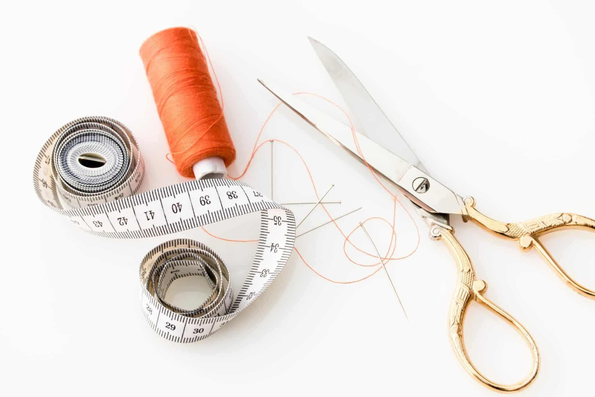 couture ciseaux mode durable