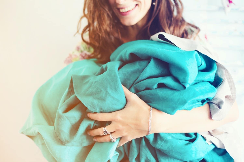 drap mouchoirs en tissu astuces corona confinement zéro déchet