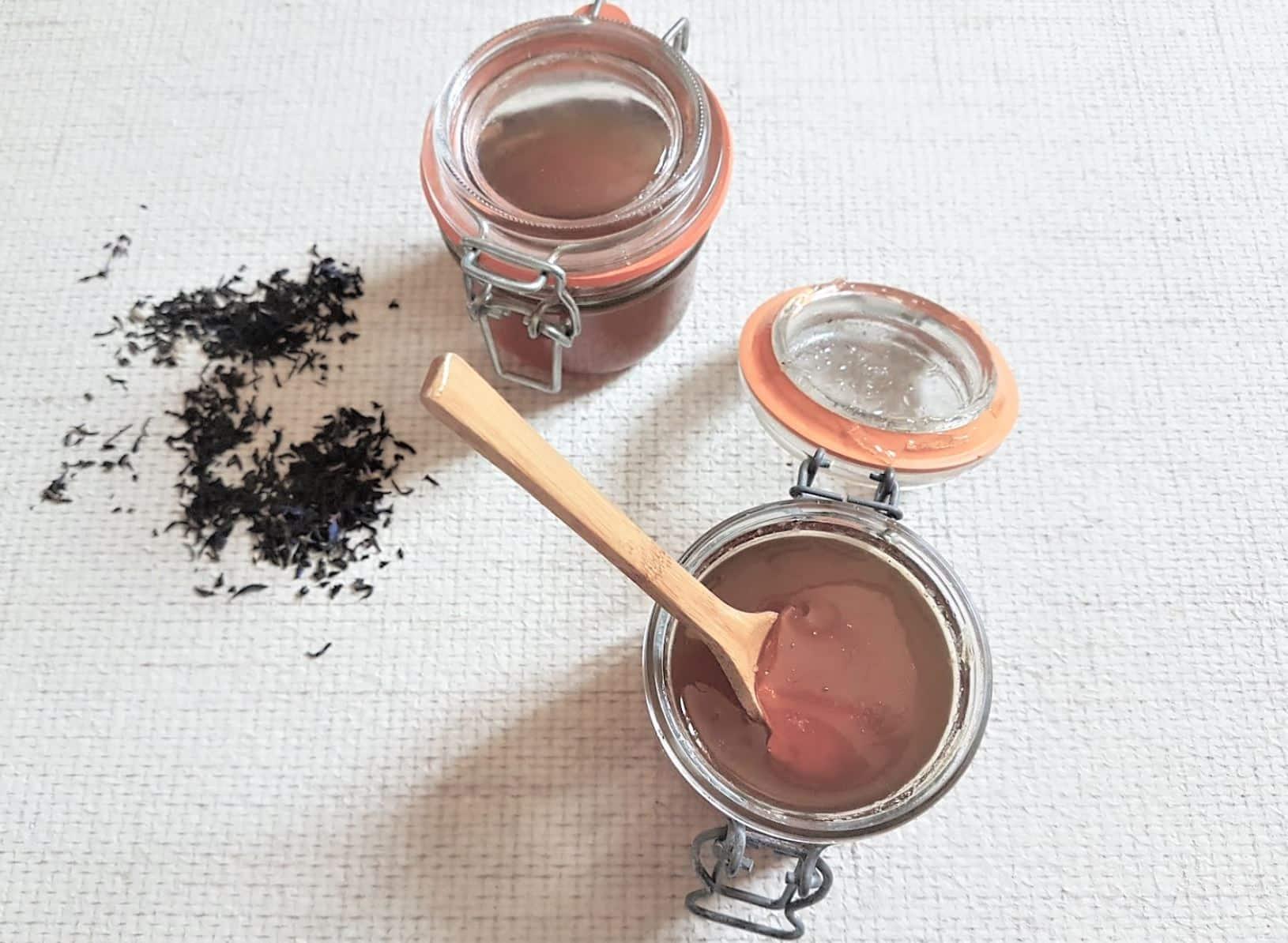 gelée de thé recette maison zéro déchet