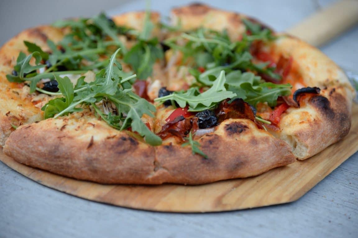 pâte a pizza sans gluten repas plat maison