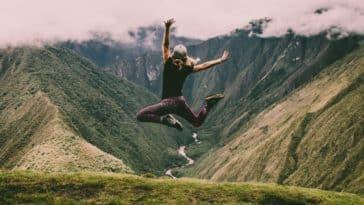 randonnée montagne saut sports plus écolos