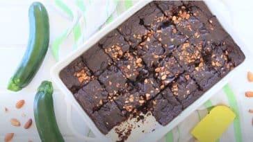 recette de gâteau à la courgette chocolat