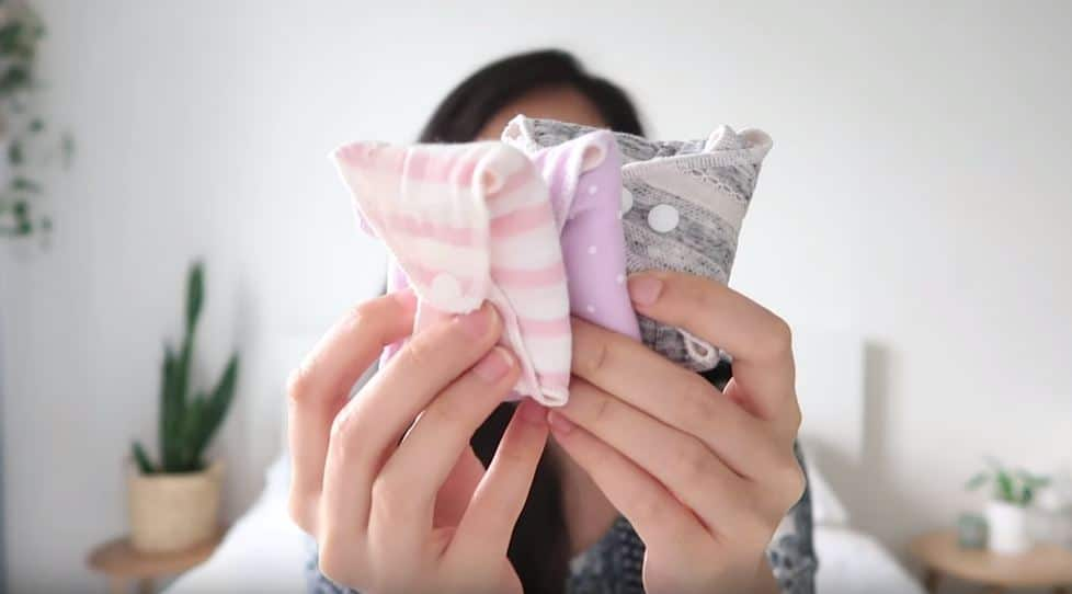 serviettes lavables réutilisables protections zéro déchet