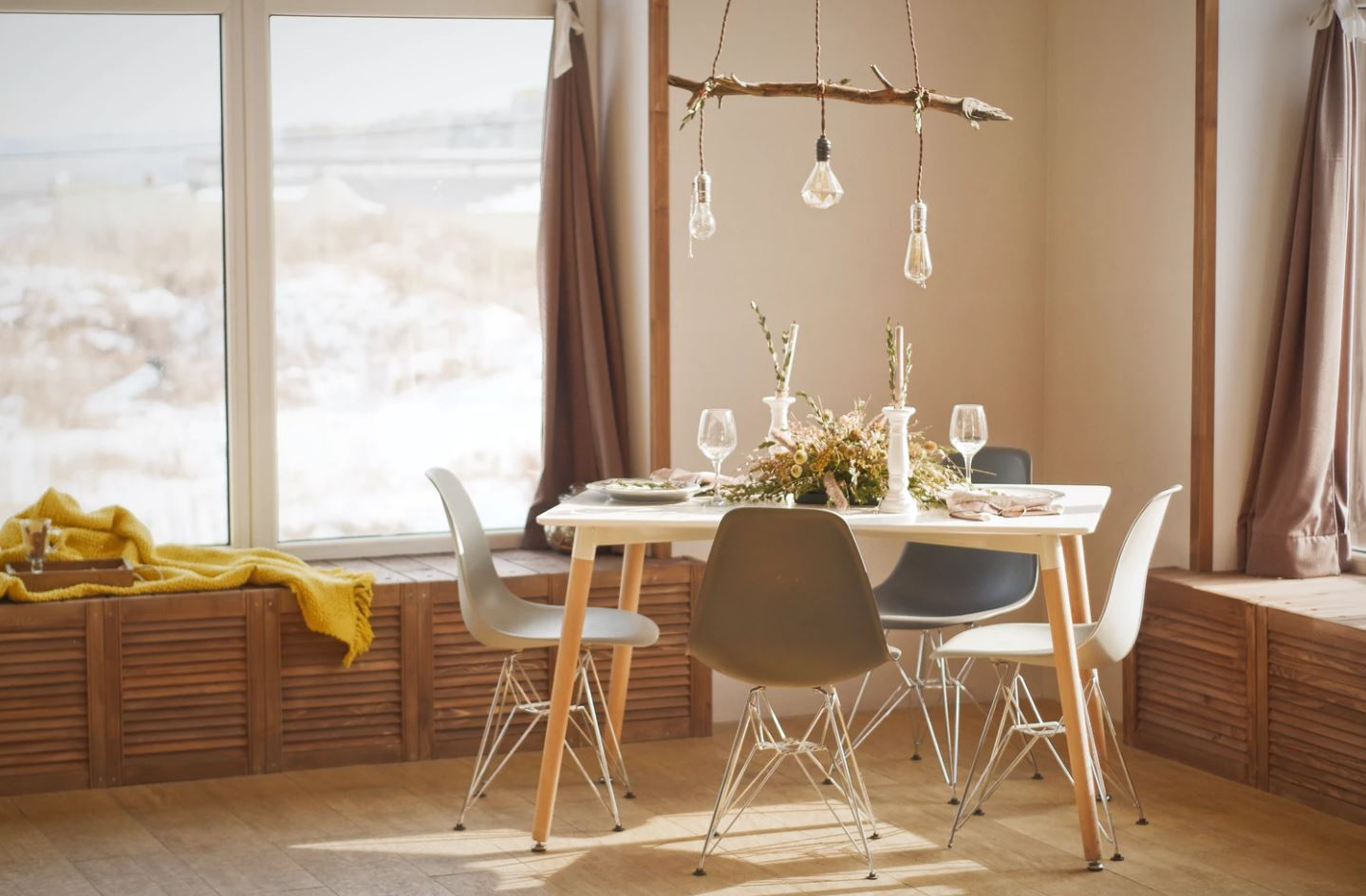 table chaise maison salon salle manger meubles