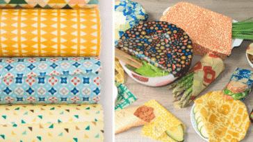 bee wrap emballages alimentaires réutilisables zéro déchet