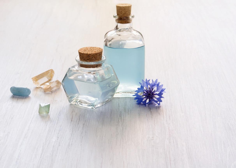 hydrolat eau florale de bleuet aromathérapie