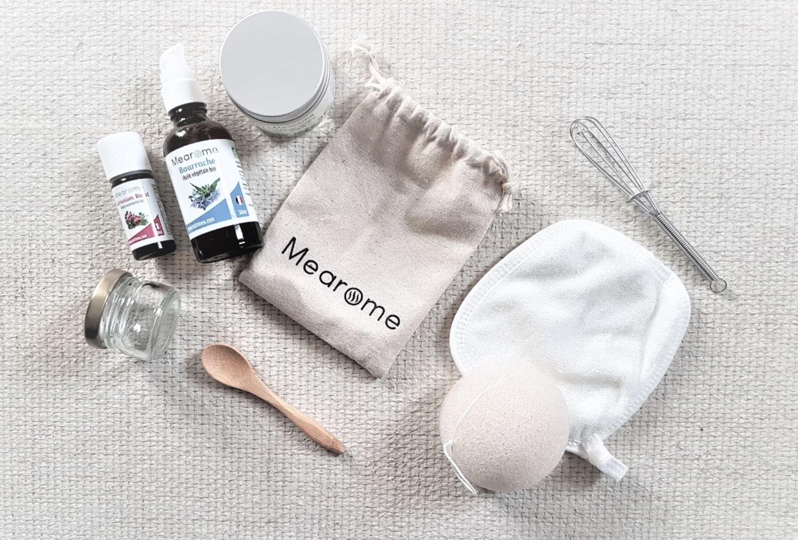 kit cosmétiques naturels huile bourrache soin antirides