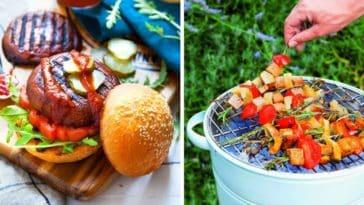 barbecue vegan plats été menu végétarien marie laforet