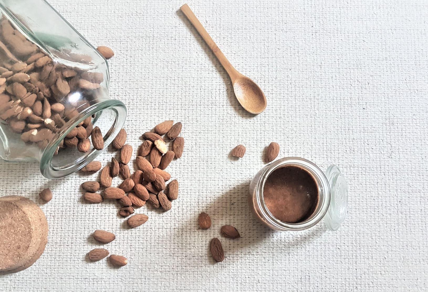 purée d'amandes naturelle recette maison