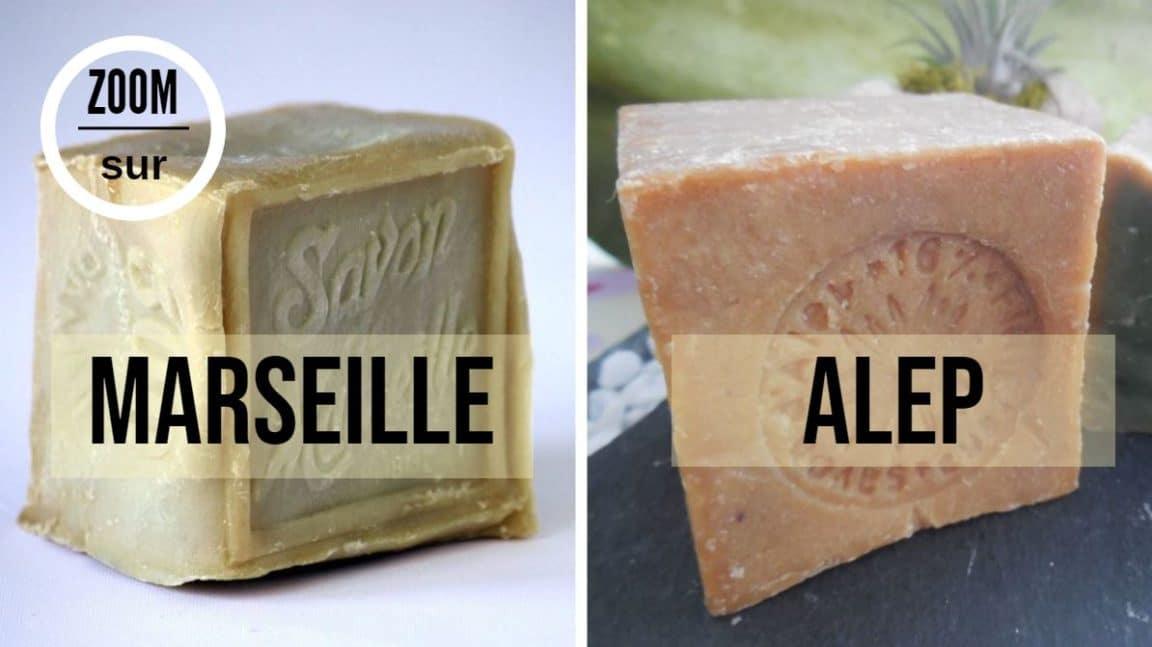 savon marseille alep differences