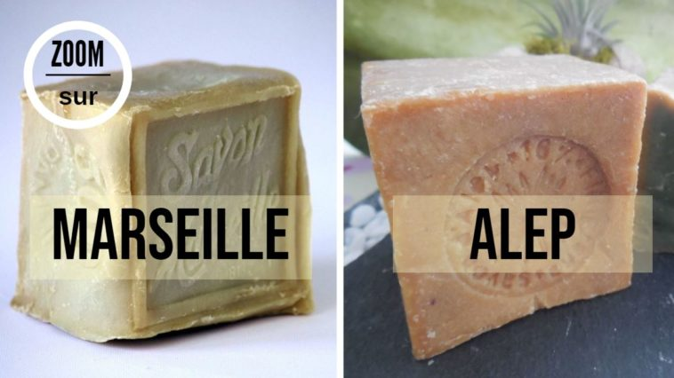 savon marseille alep differences