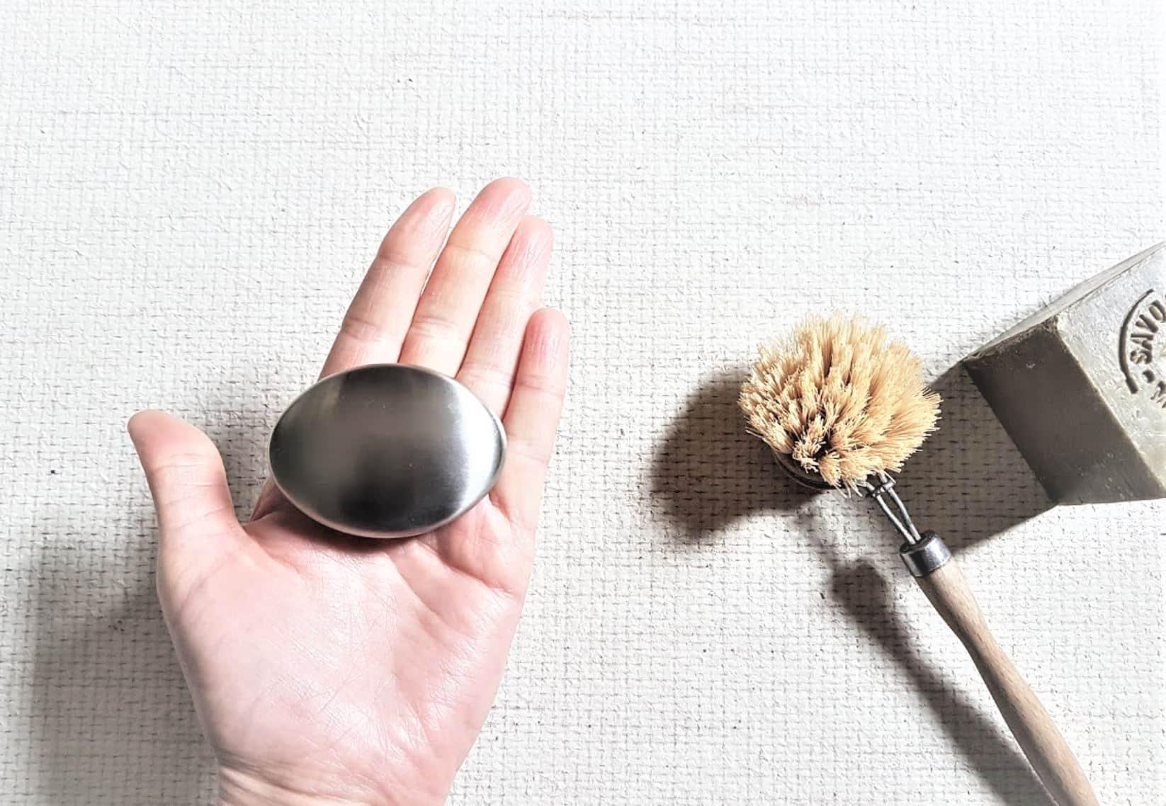 savon métallique savon acier inox