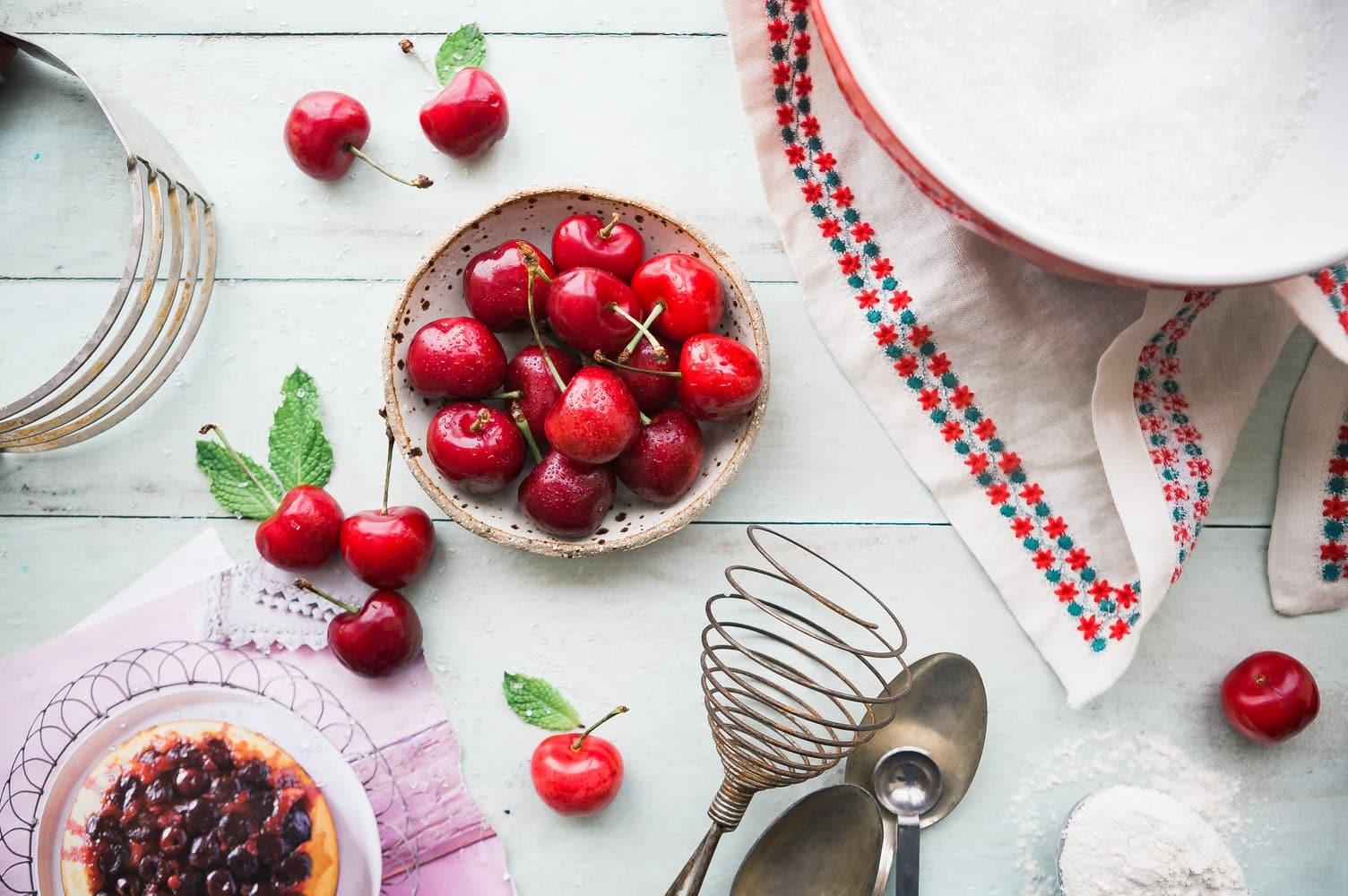 cerises cuisine clafoutis tarte recycler