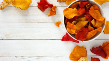 chips de légumes pommes de terre navets apéritif recette