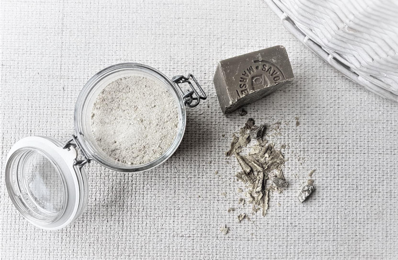 lessive en poudre maison recette savon
