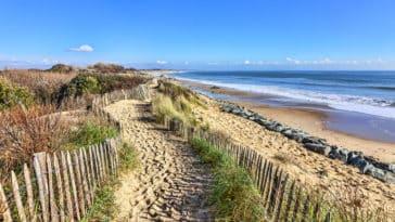Bretagne plage mer océan vacances zéro déchet
