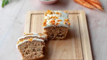 Carrot Cake recette sans gluten gâteau carottes