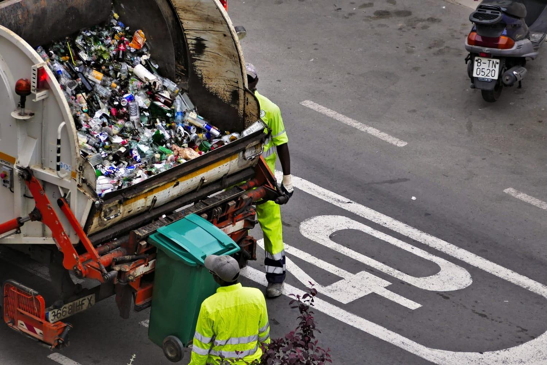 recyclage déchets camion tri sélectif recycler