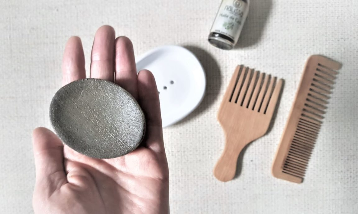 recette rose shampoing solide cade anti-démangeaisons
