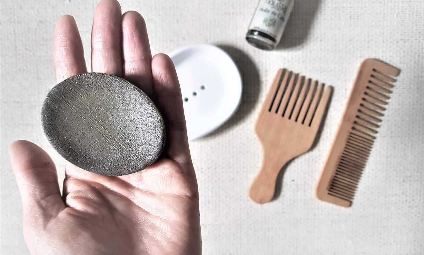shampoing solide huile de cade anti démangeaisons naturel DIY