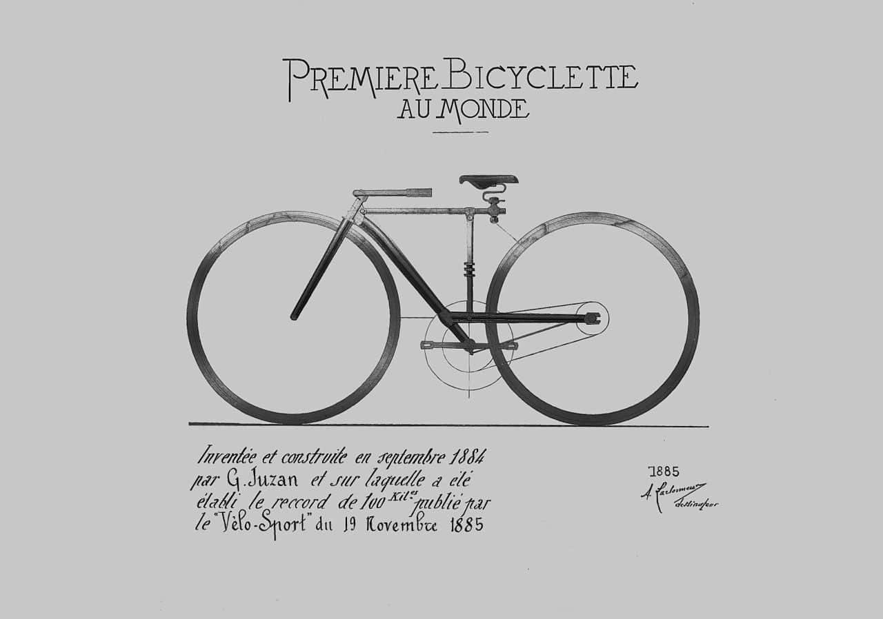 vélo histoire bicyclette gravure vélocipède