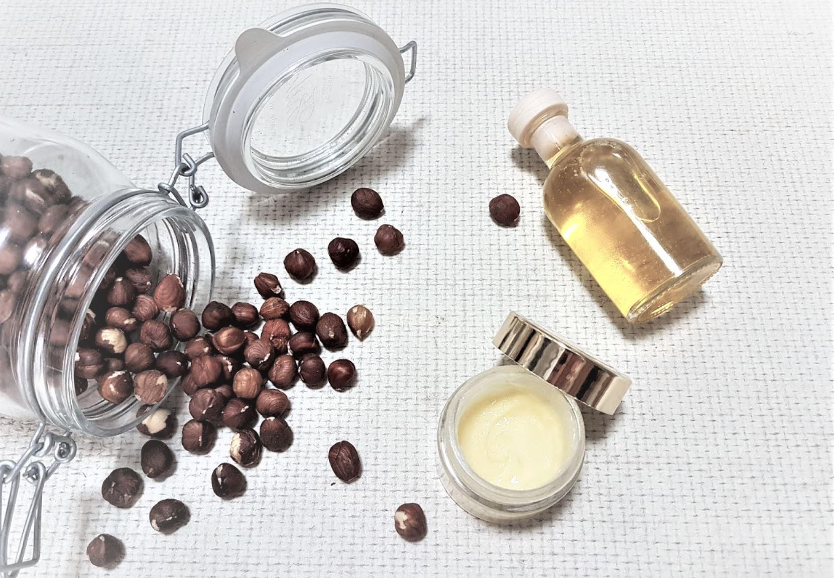 crème visage ingrédients français huile recette noisettes
