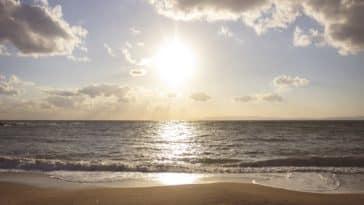 soleil plage mer océan vacances