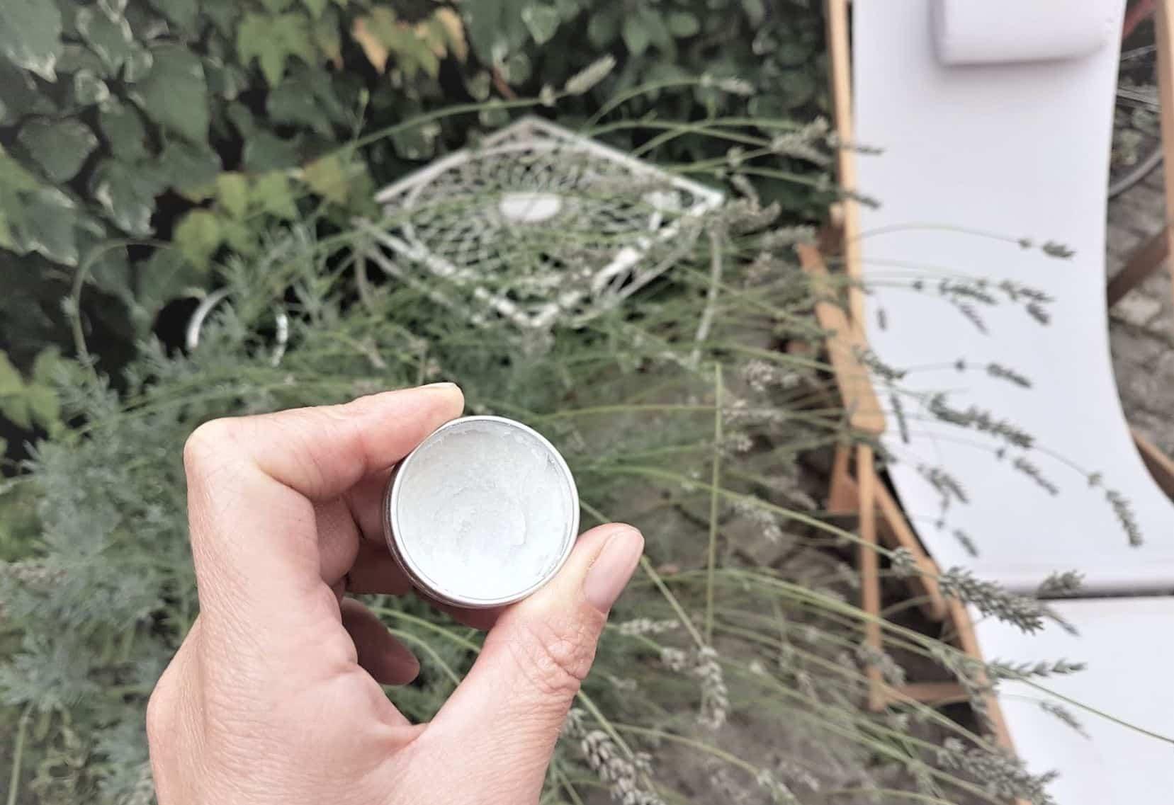 baume anti moustique naturel zéro déchet diy