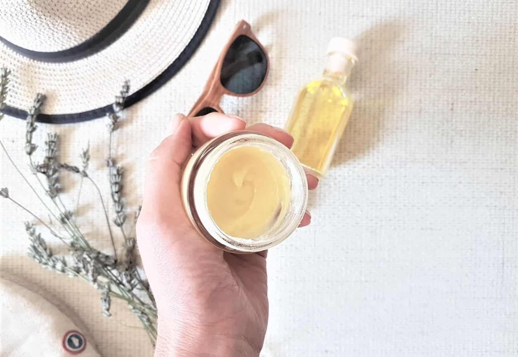 baume solaire crème soleil recette