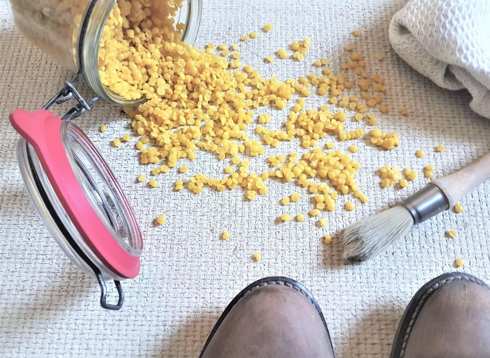 cire abeille impermeabiliser chaussures zéro déchet imperméabilisant naturel