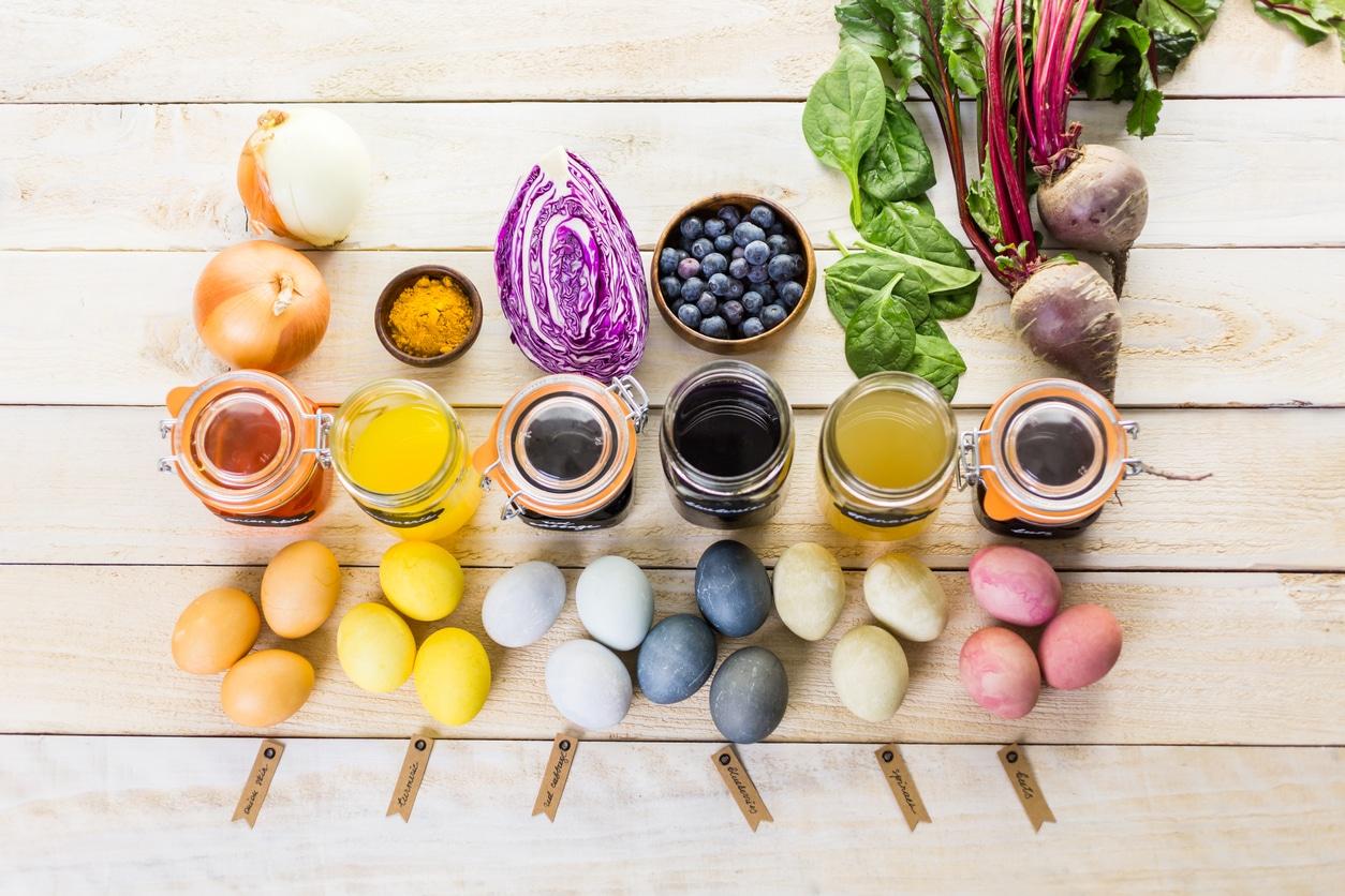 colorants alimentaires naturels liste zéro déchet couleurs