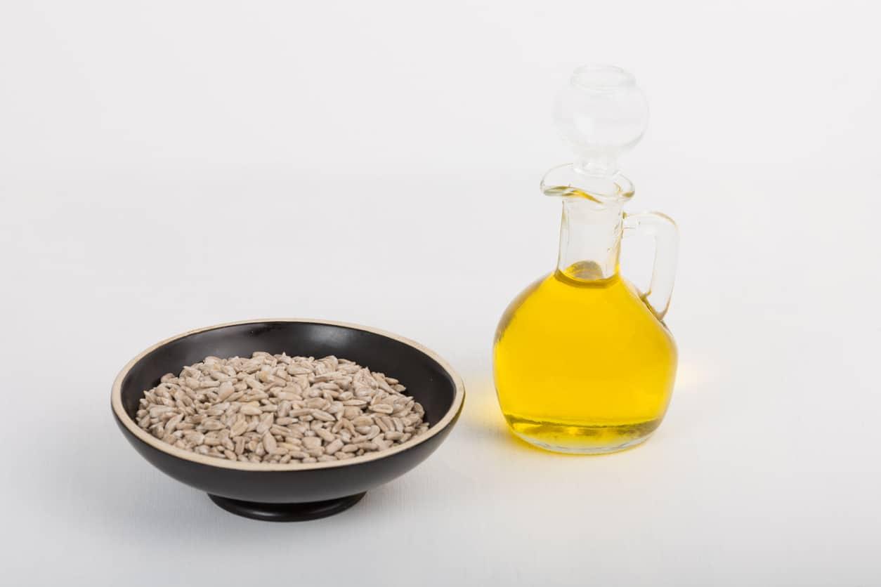 huile de tournesol graines