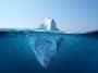 Iceberg sac plastique pollution mer océan
