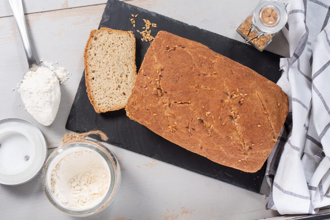 pain maison bio boulangerie faire soi-même trancher mie