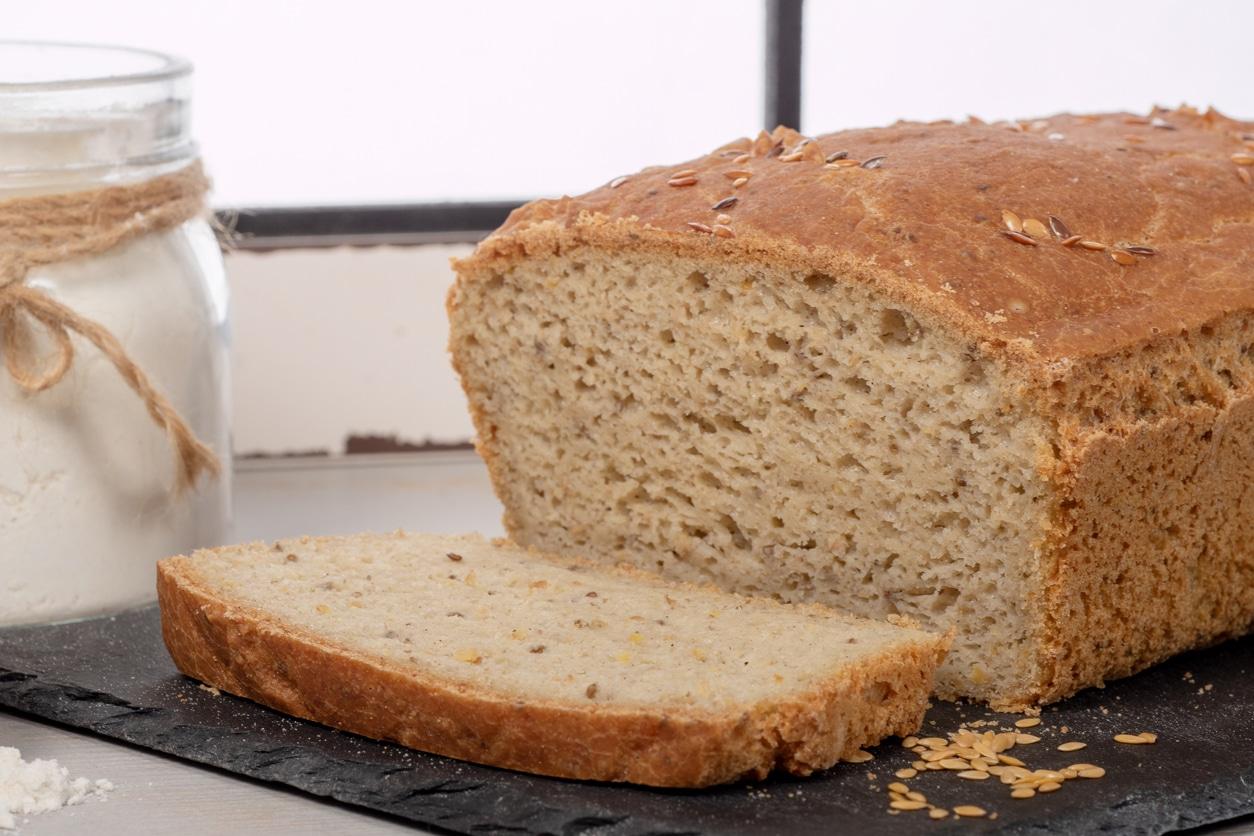 pain sans gluten tranches mie recette