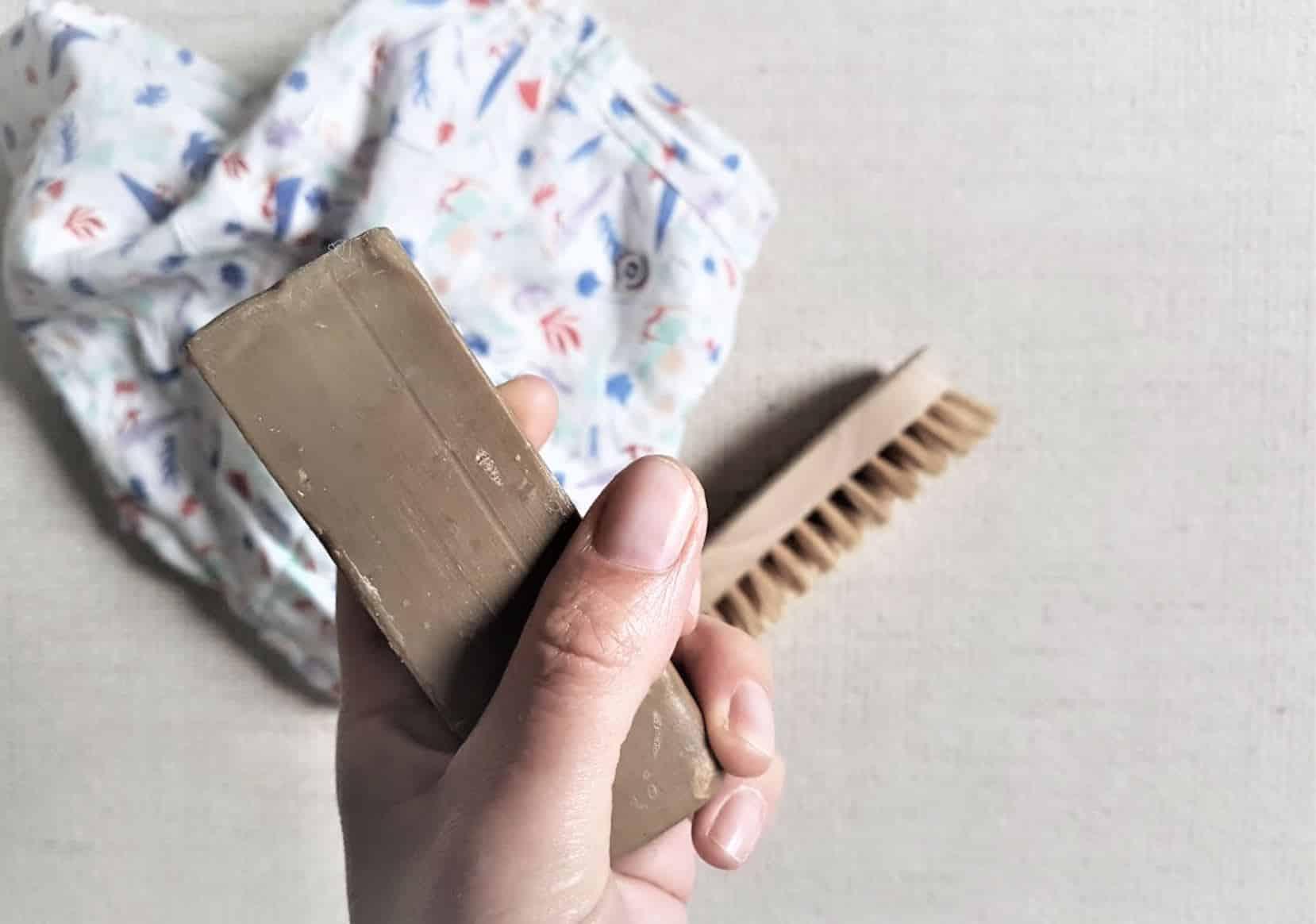 stick détachant maison recette savon