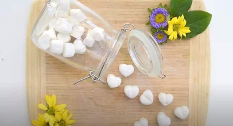 tablettes lave vaisselle recette