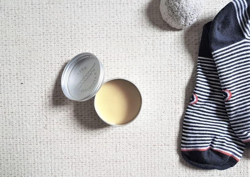 baume pieds nourrissant recette zéro déchet crème