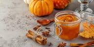 crème courge potiron citrouille cuisine bocal zero déchet automne Halloween