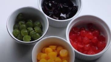 bonbons jus de fruit maison