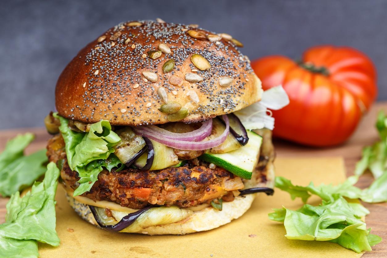 recettes de cuisine végétariennes burger vegan