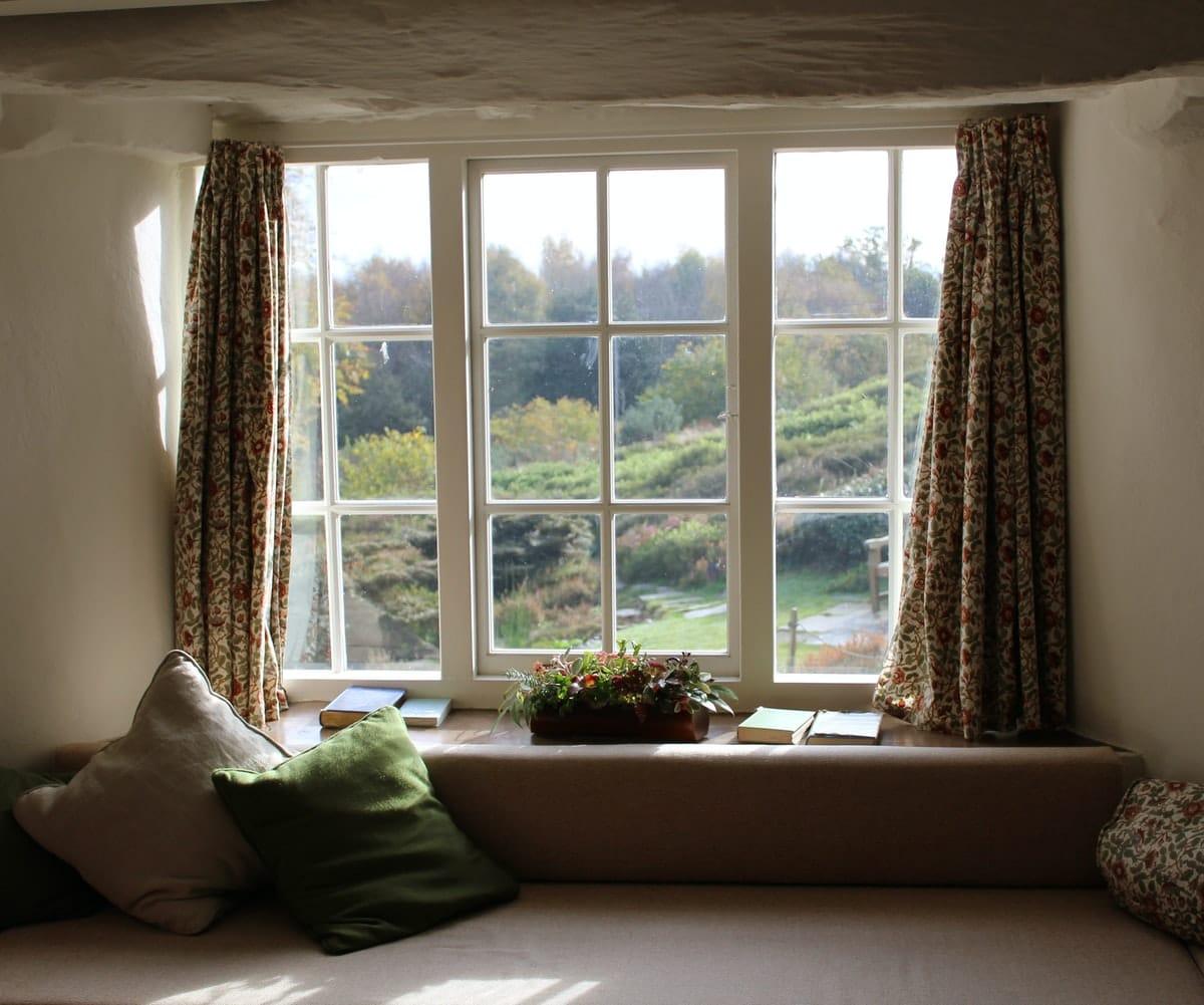 fenêtre nature maison intérieur parfumer naturellement