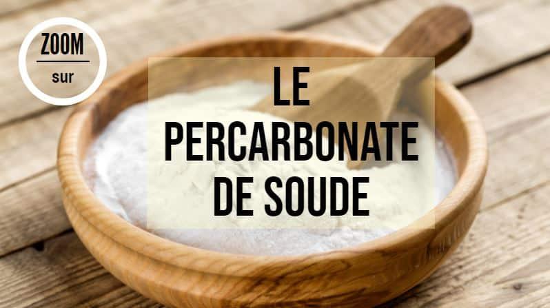 fiche produit percarbonate de soude bienfaits