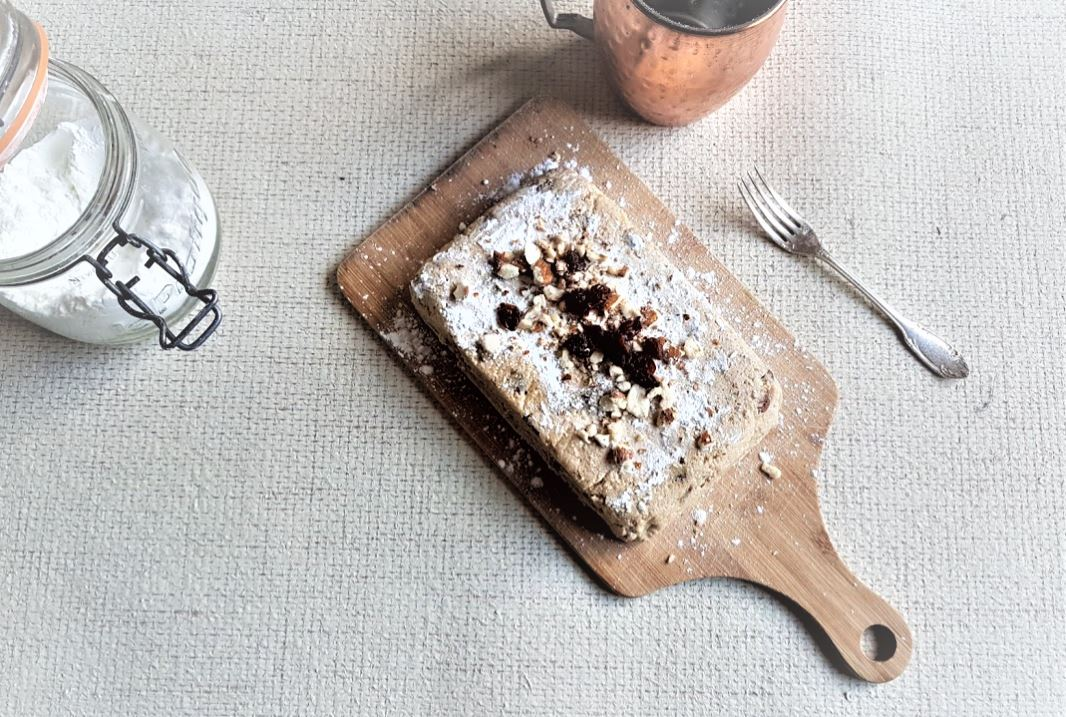 gâteau de courge crue râpée cuisine dessert