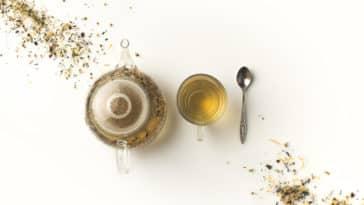 thé tisane infusion théière